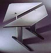 Mini Corner Bilevel Table
